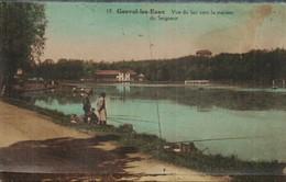 Genval Les Eaux Vue Du Lac Vers La Maison Du Seigneur - Belgique