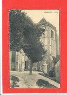 80 FLIXECOURT Cpa Animée L' Eglise    Edit Raoul Photo - Flixecourt