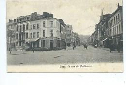 Liège La Rue Des Guillemins - Liege