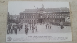 CPA ANIMEE LIEGE- ANCIEN PALAIS DES PRINCES EVEQUES- - Luik