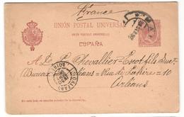 5074 - Entier Pour La France - Covers & Documents