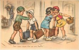GERMAINE BOURET  EDITION CNCV COLONIES DE VACANCES 1938 N°10 - Bouret, Germaine