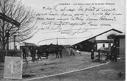 16 COGNAC LE CAFE  DE LA PETITE VITESSE  AU DOS TAXEE GRANDE BRETAGNE - Cognac
