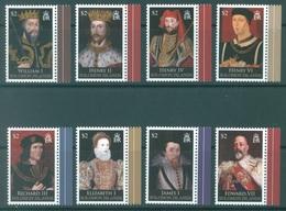 SOLOMON ISLANDS - MNH/** - 2008 - KINGS AND QUEEN - Yv 1239-1246  - Lot 17535 - Salomon (Iles 1978-...)