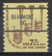 USA Precancel Vorausentwertung Preo, Bureau Texas, Beaumont 1614-87 - Vorausentwertungen