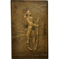 France, Médaille, Première Guerre Mondiale,Préparation Militaire, Epernay - France