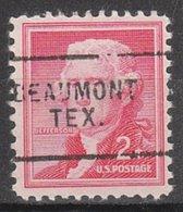 USA Precancel Vorausentwertung Preo, Locals Texas, Beaumont 802 - Vorausentwertungen