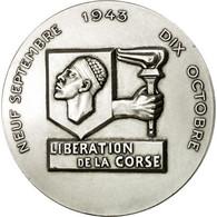 France, Médaille, Seconde Guerre Mondiale, Libération De La Corse, SPL+ - France