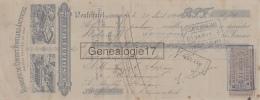 62 852 NEUFCHATEL Pres BOULOGNE SUR MER PAS DE CALAIS 1894Fabrique Ciment Portland E. SOLLIER Cie A APPAY - Bills Of Exchange