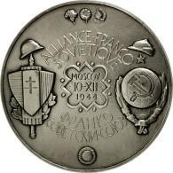 France, Médaille, Seconde Guerre Mondiale, Alliance Franco-Soviétique, FDC - France