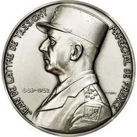 France, Médaille, Seconde Guerre Mondiale, Jean De Lattre De Tassigny, Turin - France