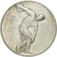 France, Médaille, Le Discobole, Myron, SUP+, Argent - France