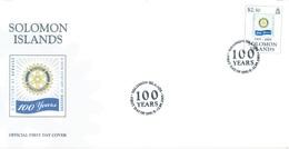 SOLOMON ISLANDS - FDC - 12.9.2005 - ROTARY - Yv 1154 - Lot 17538 - Salomon (Iles 1978-...)
