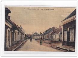 BOULOIRE : Rue Du Jeu De Paume (toillée) - Tres Bon Etat - Bouloire
