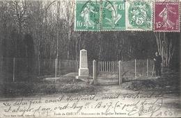 SOMME - 80 - CRECY EN PONTHIEU - Monument Brigadier Berteaux - Oblitération Originale - Crecy En Ponthieu