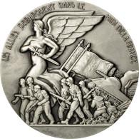 France, Médaille, Les Alliés Débarquent Dans Le Midi De La France, Vezien - France