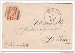 Annullo A Sbarre Gavi (AL) 1887 - 1900-44 Vittorio Emanuele III