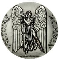 France, Médaille, Seconde Guerre Mondiale, La Victoire De 1945, Delamarre, FDC - France