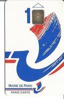 MAIRIE DE PARIS - PARIS CARTE 1 - BATEAU SC6 Verso 1 (N°0115 - La Cote En Poche) - Frankreich