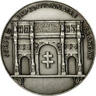 France, Médaille, Seconde Guerre Mondiale, Corps Expéditionnaire Français - France