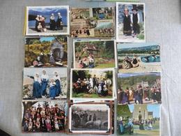 LOT   DE  105 CARTES  POSTALES   FOLKLORE   DE  FRANCE - Postcards