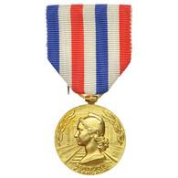 France, Honneur Des Chemins De Fer, Médaille, 1967, Excellent Quality, Guiraud - Army & War