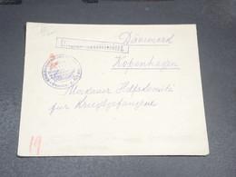 ALLEMAGNE - Enveloppe En Feldpost Pour Le Danemark , Marine - L 19991 - Allemagne