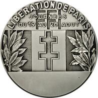 France, Médaille, Seconde Guerre Mondiale, Libération De Paris, FDC, Silvered - France