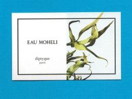 Cartes Parfumées   Carte  EAU MOHÉLI   De DIPTYQUE Plus Claire - Modern (from 1961)