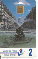 MAIRIE DE PARIS -  PARIS CARTE 2 - ROSTAND SO6 Verso 5B ( N° 0424 - La Cote En Poche ) - Scontrini Di Parcheggio