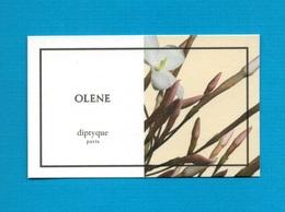 Cartes Parfumées   Carte  OLENE    De DIPTYQUE - Modern (from 1961)