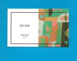Cartes Parfumées   Carte  DO SON    De DIPTYQUE - Modern (from 1961)