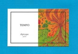 Cartes Parfumées   Carte  TEMPO  De DIPTYQUE - Modern (from 1961)