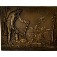 Algeria, Médaille, Union Nationale Des Cheminots, 1926, Foerster, TTB+, Bronze - Jetons & Médailles