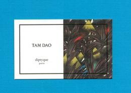 Cartes Parfumées   Carte  TAM DAO    De DIPTYQUE - Modern (from 1961)