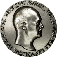 France, Médaille, Les Présidents De La République, Vincent Auriol, FDC - France