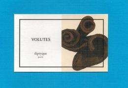 Cartes Parfumées   Carte  VOLUTES   De DIPTYQUE - Modern (from 1961)