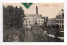 - CPA SAINT-QUENTIN (02) - Moulins D'Isle 1908 - N° 45 - - Saint Quentin