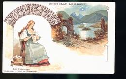 CHOCOLAT LOMBART - Publicité