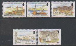 South Georgia 1999 Island Views 5v ** Mnh (39607) - Zuid-Georgia