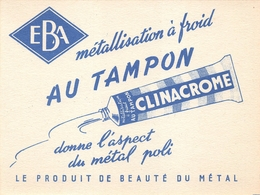 Buvard Clinacrome EBA - Buvards, Protège-cahiers Illustrés