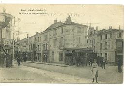 52 - SAINT DIZIER / LA PLACE DE L'HÔTEL DE VILLE - Saint Dizier