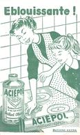 Buvard Aciépol Lille - Buvards, Protège-cahiers Illustrés