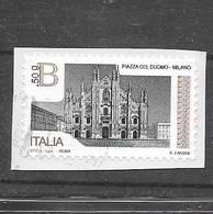 Italia 2016  Piazze D'Italia (Piazza Del Duomo, Milano)  Valore Usato B 50 G (2,55 €)  Sassone 3700 - 6. 1946-.. Repubblica