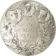 France, Médaille, Première Guerre Mondiale, Les Héros De Verdun, FDC - France