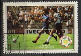 """PIA  - BELIZE : 1982 - """"Spagna 82 """" Coppa Del Mondo Di Calcio - (Yv 628 ) - Belize (1973-...)"""