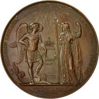 France, Médaille, Louis XVIII, Hommage Aux Bourbons, 1820, Gayrard, SUP, Cuivre - France