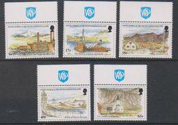 """South Georgia 1999 Island Views 5v (+margin """"Walsall Printers"""") ** Mnh (39607H) - Zuid-Georgia"""