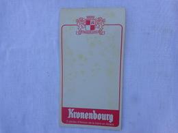 1 Carnet De Bloc -peut Etre Incomplet- Kronenbourg  Lot 12 - Alcoholes
