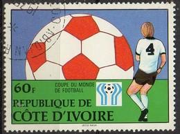 """PIA  - LIBERIA : 1978 - Argentina 78 """" Coppa Del Mondo Di Calcio - Costa D'Avorio (1960-...)"""